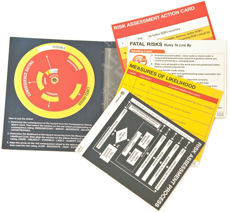 Take 5 Risk Assessment Printing